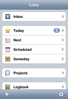 Things for iPhone screenshot